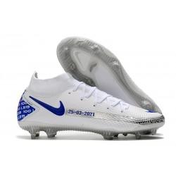 Nike para Hombre para Fútbol Phantom Gt Elite Df Fg Blanco Azul