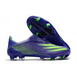 Bota de Fútbol adidas X Ghosted + FG Tinta Energía Verde