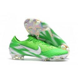 Nike Botas de Fútbol Mercurial Vapor XII Elite FG Verde Plata